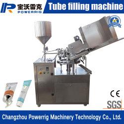 De Vullende en Plooiende Machine van de aangepaste Buis van het Aluminium voor Tandpasta