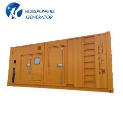 Insonorizadas impermeable 800kw/1000kVA a 60Hz contenedor Weichai generador diésel de emergencia