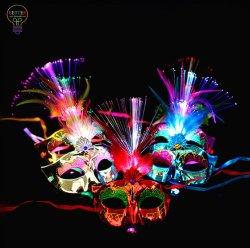 De Partij van de LEIDENE Levering van Kerstmis maskeert het Decor van het Festival