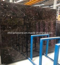 L'Oriental chinois de marbre marron Emperador dalle de marbre sombre pour les tuiles ou les comptoirs