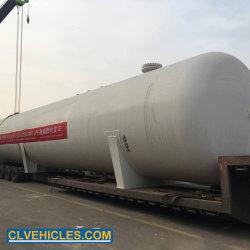 ASME 나이지리아 200cbm LPG 저장 탱크 100tons LPG 가스통 탱크에 의하여 이용되는 LPG 가스 탱크