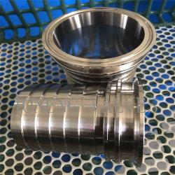Nipplo per tubi flessibili bloccati in acciaio inox per uso alimentare sanitario (JN-FL 3006)