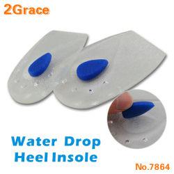 새로운 디자인 젤 실리콘 중대한 가격을%s 가진 발뒤꿈치 Ppad를 완화하는 편리한 실리콘 발뒤꿈치 컵 박차 패드 삽입 안창