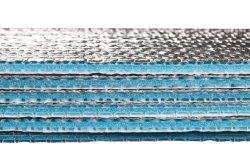 طبقة رقيقة من الألومنيوم العازل طبقة من الألومنيوم التأملي طبقة رقيقة من الفلين XPe حرارياً العزل