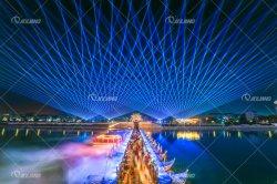 축제 활동을%s 장려한 옥외 RGB 30W 레이저 광 광속