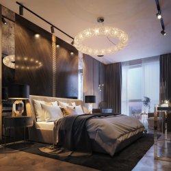 중국 공장 직물 파이브 스타 호텔 현대 침실 가구