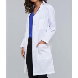 La moda personalizada Bata de laboratorio médico de hospital Coat para mujer