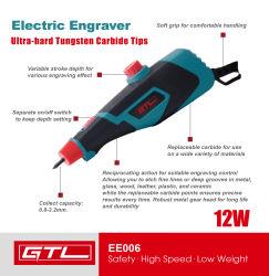 Herramienta eléctrica, el grabado de la punta de diamante de Pen Bolígrafo grabador eléctrico herramientas grabado a mano (EE006)