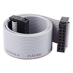 Cablaggio a filo piatto IDC tipo 4-64 pin sui due lati da 2,54 mm