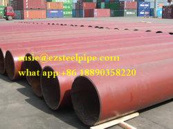 Arc Submergé en spirale soudés en acier au carbone Tuyau en acier SSAW/tube pour le pipeline de liquide