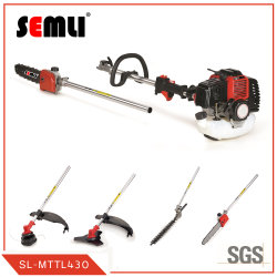 Brosse multi outils faucheuse avec la ligne de la Fraise, lame de métal, tondeuse spéculatifs, Pole scie et la pompe à eau