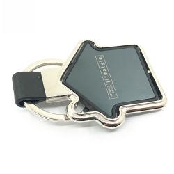 Catena chiave della piccola Camera del laser del cuoio rotativo a forma di all'ingrosso della catena chiave