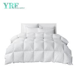 Hotel edredones de algodón egipcio de 100% de la mayorista cubrir tamaño queen 1200 Hilos blanco