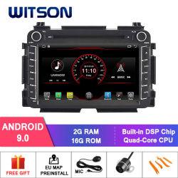 ホンダVezel 1080P HDのビデオのためのWitsonのクォードコアアンドロイド9.0車DVD GPS