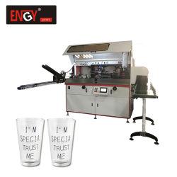 熱い販売フルオートマチックスクリーンの印字機の印刷の水晶またはガラスかプラスチックコップ