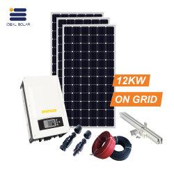 12КВТ по сетке дома солнечной энергии питания системы