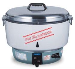 Panela elétrica de arroz de gás comercial 10L Aprovação ETL 50 xícaras panela elétrica de arroz a fábrica de gás