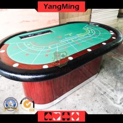 9 het Gokken van de speler de Spelen van het Casino van het Baccarat van de Lijst van de Pook van de Club van de Fabriek van de Leverancier van het Casino ym-Ba04
