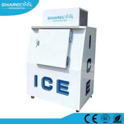 Congelatore insaccato del Merchandiser del ghiaccio dello scomparto di immagazzinamento nel ghiaccio