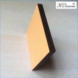 De hoge druk HPL lamineerde Phenolic Hars en Karton van Kraftpapier