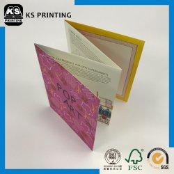 Haut de gamme à bas prix catalogue papier mat d'art de l'uncoated Service d'impression de plastification