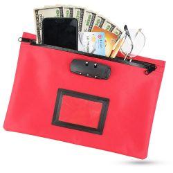 주문 현금 돈 은행 부대를 잠그는 재사용할 수 있는 예금 안전
