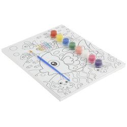 子供のためのDIYデジタルのキャンバスの油絵の教育おもちゃ