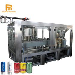 30 - 50 bpm em aço inoxidável de Refrigerantes Pode Isobar máquina de enchimento para bebidas carbonatadas