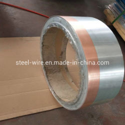 1mm bobine de métal de titane Bilame acier plaqué cuivre Strip