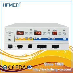 Ce keurde het Gebruik van de Dierenarts van Cautery van de Diathermie van de Eenheid van Electrosurgical van de Hoge Frequentie 400W (goed hfcm-350C)