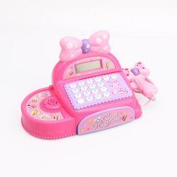 Elektrisches Supermarkt-kalkulierbares Kind-p?dagogische Musik-Spielzeug-Registrierkasse