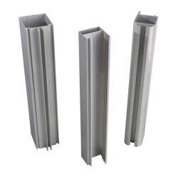 Nigeria beschichtete anodisieren Aluminiumstrangpresßling 6063 6061 für Fenster und Tür