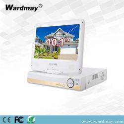 10inch LCDスクリーンとのWdm 4chs 1080PネットワークAhd DVR