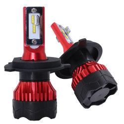 Mini potente farol LED K5 72W 6000K H4 12000LM Farol do Carro 6000K Csp 1860 Auto cordões de luzes de acessórios do carro fácil de instalar