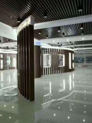 100*50mm WPC Holz und hohles quadratisches Bauholz-Gefäß DER Belüftung-Zusammensetzung-2 für Innenwand-Partition-Dekoration
