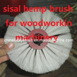 Escova do cânhamo de sisal para o polonês da maquinaria de Woodworking (YY-334)