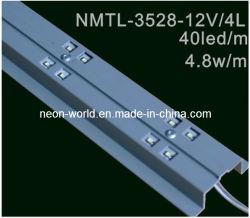 3528 Barre LED Module ---- 12V, 4 LED blanc chaud, blanc /
