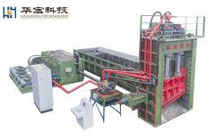 기계 Q91y-1250W 단두대 가위를 재생하는 유압 금속 조각 포장기 낭비 금속 철 합금