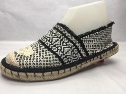 Удобные и сжатой All-Match джута леди обувь (23LG1714)