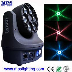 Testa mobile 6*15W RGBW dell'indicatore luminoso LED del randello di notte