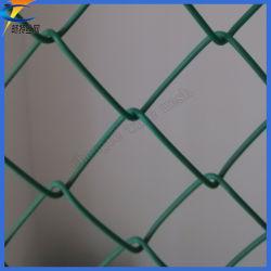Стадион звено цепи забора/PVC покрытием звено проволочной сеткой