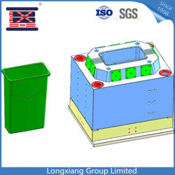 Высокое качество изготовления пластмассовых Difectly заводской сборки мусора Bin/Корзину/мусорным ведром пресс-формы