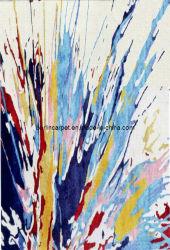 La main de tapis touffeté laine néo-zélandais+viscose (Van-003