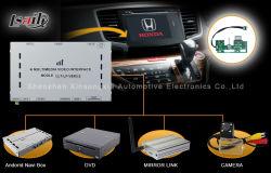 (R/L-Hand) GPS van Video Interface voor de Stad van Honda/Jade/Fit /Accord 9/Odyssey/City