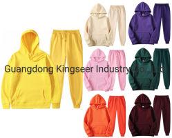 Frauen-Kleidung-Schweiss-Klagen Wholesale kundenspezifische normale übergrosse Hoodies rüttelnde Klage-Stickerei-Druck-Spur-Klage