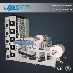Pressa della stampa del rullo della tazza di carta di colore di Jps850-5c cinque