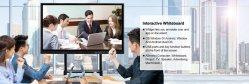 شهادة سي دي الدائمة المجانية تلفزيون ذي لوح أبيض تفاعلي بشاشة LCD مع HDMI