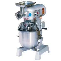 De Mixer van het voedsel met Gehaktmolen, Haak, Klopper (GRT - B20GS)