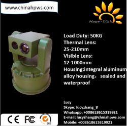 Día y Noche CCD a color de la cámara de seguridad PTZ Térmica de infrarrojos