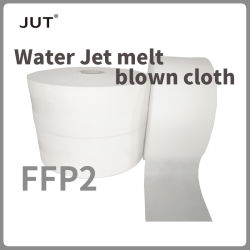 Chorro de Agua se funden paño fundido la filtración de partículas a largo plazo aceitoso máscaras FFP2 material filtrante Meltblown